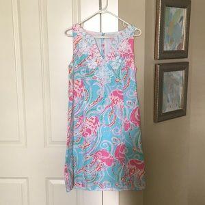 Lilly Pulitzer Jellies Be Jammin Gabby Shift Dress